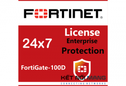 Bản quyền phần mềm FortiGate-100D 3 Year Enterprise Protection (24x7 FortiCare plus Application Control, IPS, AV, Web Filtering, Antispam, FortiSandbox Cloud)