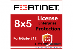 Bản quyền phần mềm FortiGate-81E 5 Year Enterprise Protection (8x5 FortiCare plus Application Control, IPS, AV, Web Filtering, Antispam, FortiSandbox Cloud)