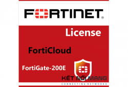 Bản quyền phần mềm FortiCloud Management, Analysis and 1 Year Log Retention for FortiGate 200E, 3 year