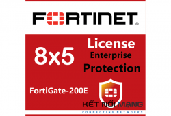 Bản quyền phần mềm Fortigate-200E 1 Year Enterprise Protection (8x5 FortiCare plus Application Control, IPS, AV, Web Filtering, Antispam, FortiSandbox Cloud)