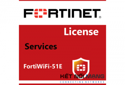 Bản quyền phần mềm 1 Year FortiGuard IPS Service for FortiWiFi-51E