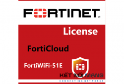 Bản quyền phần mềm Fortinet FortiWiFi-51E 1 Year FortiCloud Management, Analysis and 1 Year Log Retention, 1 year