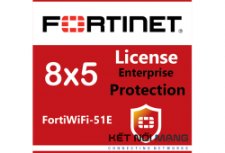 Bản quyền phần mềm FortiWiFi-51E 5 Year Enterprise Protection (8x5 FortiCare plus Application Control, IPS, AV, Web Filtering, Antispam, FortiSandbox Cloud)