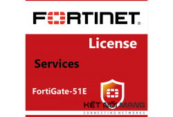 Bản quyền phần mềm FortiGate-51E 1 Year FortiCASB Service, Includes 15 users