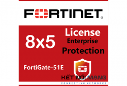 Bản quyền phần mềm FortiGate-51E 3 Year Enterprise Protection (8x5 FortiCare plus Application Control, IPS, AV, Web Filtering, Antispam, FortiSandbox Cloud)