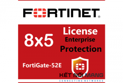 Bản quyền phần mềm FortiGate-52E 5 Year Enterprise Protection (8x5 FortiCare plus Application Control, IPS, AV, Web Filtering, Antispam, FortiSandbox Cloud)