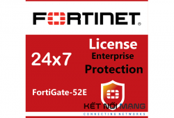 Bản quyền phần mềm FortiGate-52E 3 Year Enterprise Protection (24x7 FortiCare plus Application Control, IPS, AV, Web Filtering, Antispam, FortiSandbox Cloud), FortiSandbox Cloud)
