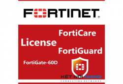 Bản quyền phần mềm FortiGate-60D 5 Year Enterprise Protection (24x7 FortiCare plus Application Control, IPS, AV, Web Filtering, Antispam, FortiSandbox Cloud)