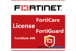 Bản quyền phần mềm FortiGate-60E 5 Year Threat Protection (24x7 FortiCare plus Application Control, IPS, AV)