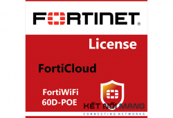 Bản quyền phần mềm Fortinet FortiWiFi-60D-POE 5 Year FortiCloud Management, Analysis and 5 Year Log Retention