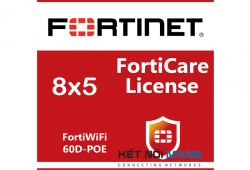 Bản quyền phần mềm 3 Year 8x5 FortiCare Contract for FortiWiFi-60D-POE
