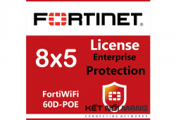 Bản quyền phần mềm FortiWiFi-60D-POE 5 Year Enterprise Protection (8x5 FortiCare plus Application Control, IPS, AV, Web Filtering, Antispam, FortiSandbox Cloud)