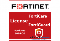 Bản quyền phần mềm 1 Year 8x5 FortiCare Contract for FortiGate-60E-POE