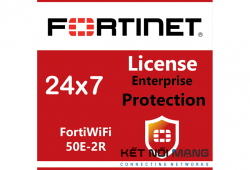 Bản quyền phần mềm FortiWiFi-50E-2R 3 Year Enterprise Protection (24x7 FortiCare plus Application Control, IPS, AV, Web Filtering, Antispam, FortiSandbox Cloud)