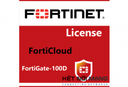 Bản quyền phần mềm FortiCloud Management, Analysis and 1 Year Log Retention for FortiGate-100D, 1 Year