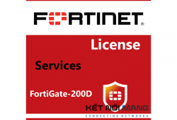 Bản quyền phần mềm Fortigate-200D 1 Year FortiSandbox Cloud, including Virus Outbreak and Content Disarm & Reconstruct Service