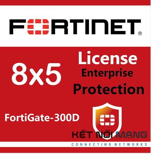 Bản quyền phần mềm FortiGate-300D 3 Year Enterprise Protection (8x5