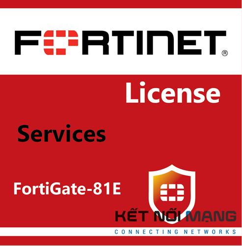 Bản quyền phần mềm FortiGate-81E 1 Year FortiCASB Service
